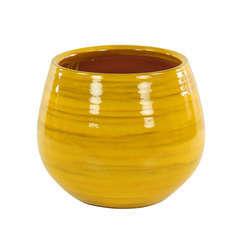 Pot Cancale, coloris Ibiza Sunshine Ø 21 x H. 21 cm
