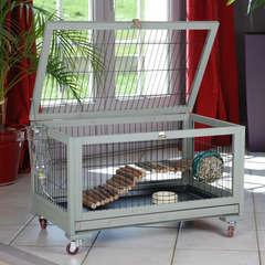 Cage lapin,cochon d'inde,furet Inland : L77xl48xh49 cm