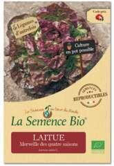 Graines potagères laitue Merveille des quatre saisons Bio en sachet