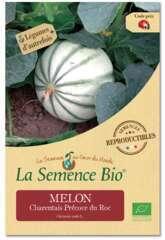 Graines potagères melon Charentais Précoce du Roc Bio en sachet