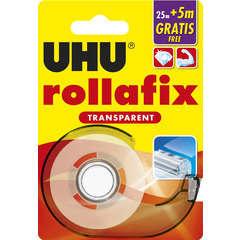 Dévidoir Rollafix, transparent 25m + 5m gratuit