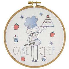 Kit à broder 'Junior' - Cake chef