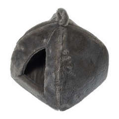 Dôme igloo Furly pour chat et petit chien : Gris L40xl40xh35cm