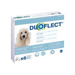 Traitement infestations puces/tiques pour chien 10-20kg : 6 pipettes