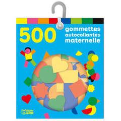 Sachet de 500 gommettes autocollantes maternelle