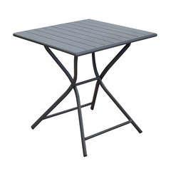 Table pliante GLOBE 70x70 Grey