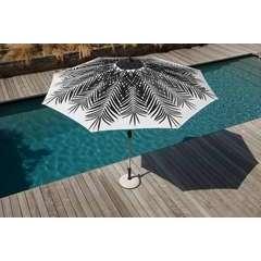 Parasol 300 US PALMIER Blanc/Noir