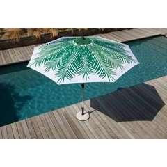 Parasol 300 US PALMIER Blanc/Vert