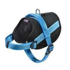 Harnais Easy de la collection Safe, couleur bleu et taille XS