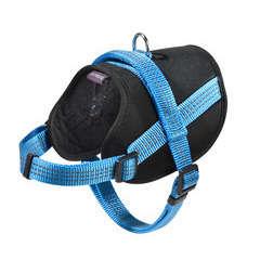 Harnais Easy de la collection Safe, couleur bleu et taille XXS