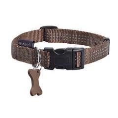 Collier Safe pour chien de couleur marron et de taille 20