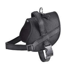 Harnais Easy de la collection Safe, couleur noir et taille XS