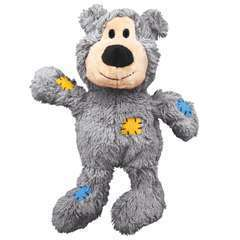 Jouet Kong ours sauvage avec corde taille M/L, pour chien