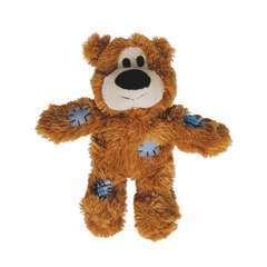 Jouet Kong ours sauvage avec corde (taille S/M), pour chien