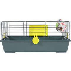 Cage Classic pour lapin, cochon d'inde : L81 cm, anis
