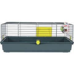 Cage Classic pour lapin, cochon d'inde : L103 cm, anis
