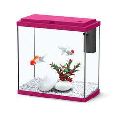 Aquarium Sarawak poisson d'eau douce, rose - 10 litres
