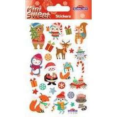 Stickers Mini sweet Noëll 8x12 cm