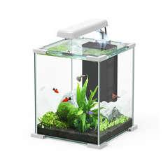 Aquarium Nano Cube Sarawak poisson d'eau douce, blanc - 16,7 litres