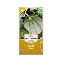 Graines de melon charentais Bio en sachet