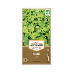 Graines de basilic citron Bio en sachet