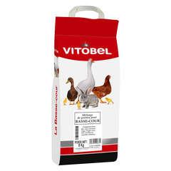 Mélange de graines et céréales pour poules, cailles, canards - 8 kg