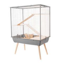 Cage Néo Cosy gris