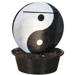 Fontaine Yin Yang à encastrer L.65 x 12 x H.67 cm