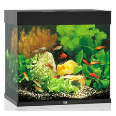 Aquarium Lido LED, noir - 120 litres