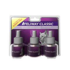 Produit apaisant Feliway pour chat : recharge diffuseur 3x48ml