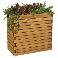 Jardinière badenen bois 112x61x100 cm