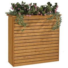 Jardinière badenen bois 130x47x122 cm