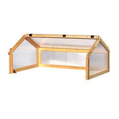 Toit pour carré potager 'Classic', en bois - L.112 x l.78 x H.66 cm