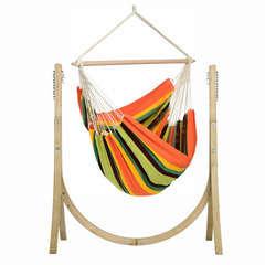 SET support Chaise Hamac TAURUS + hamac chaise Esmeralda