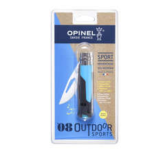 Couteau n°08 outdoor bleu