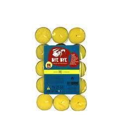 Bougies chauffe-plats (x30) - Citronnelle anti-moustiques