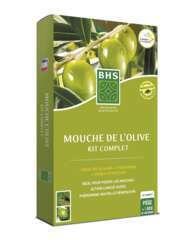 Kit complet contre la mouche de l'olive