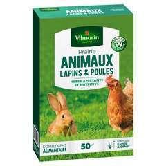 Prairie animaux lapins & poules : en boite