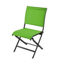 Chaise pliante ELEGANCE Grey mousse