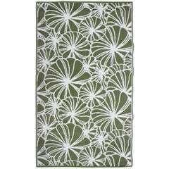 Tapis de jardin 'Fleurs', en polypropylène 241x151,5cm