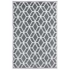 Tapis de jardin à motifs, en polypropylène 180x121cm