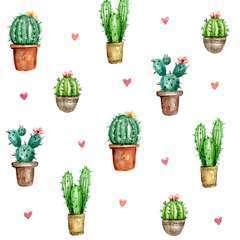 Serviettes de table x20, 33x33cm - Cactus Love