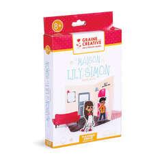 Kit Maison 3D, en plastique fingue - Lily et Simon