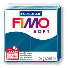 Pâte Fimo Soft, 57 g - Bleu calypso