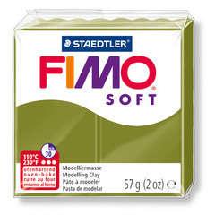 Pâte Fimo Soft, 57 g - Vert olive
