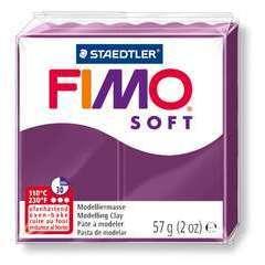 Pâte Fimo Soft, 57 g - Violet royal