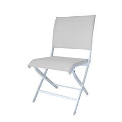 Chaise pliante ELEGANCE Blanc Blanc X2