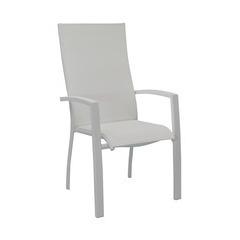 Fauteuils empilables HAUT ELEGANCE Blanc Blanc x2