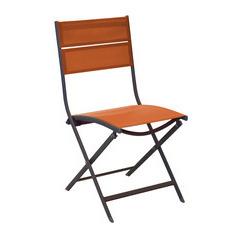 Chaise pliante WIN Café Paprika X2