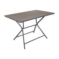 Table pliante WIN 110x70 Taupe